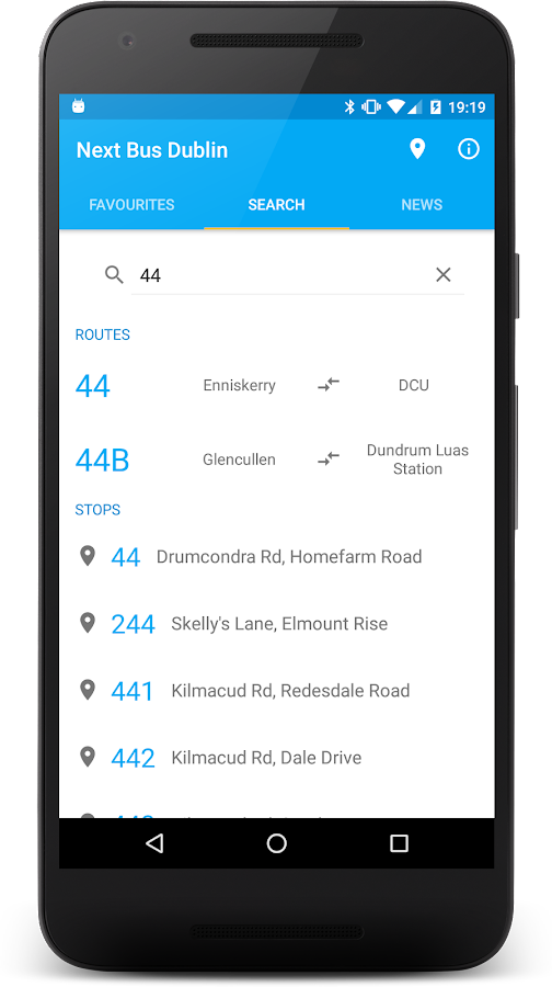 Next Bus Dublin Free- screenshot
