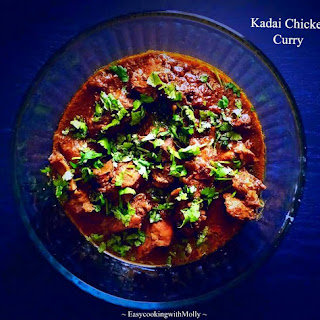 Kadai Chicken Curry - One Pot