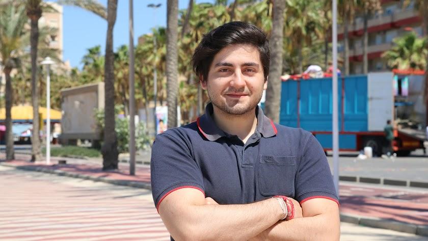 Jesús Sicilia Sánchez, en Almería