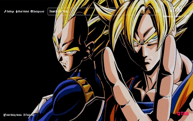 Dragon Ball Z Wallpapers New Tab Hd