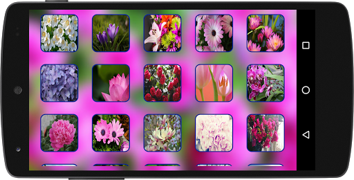 100 Puzzle Style - Flowers