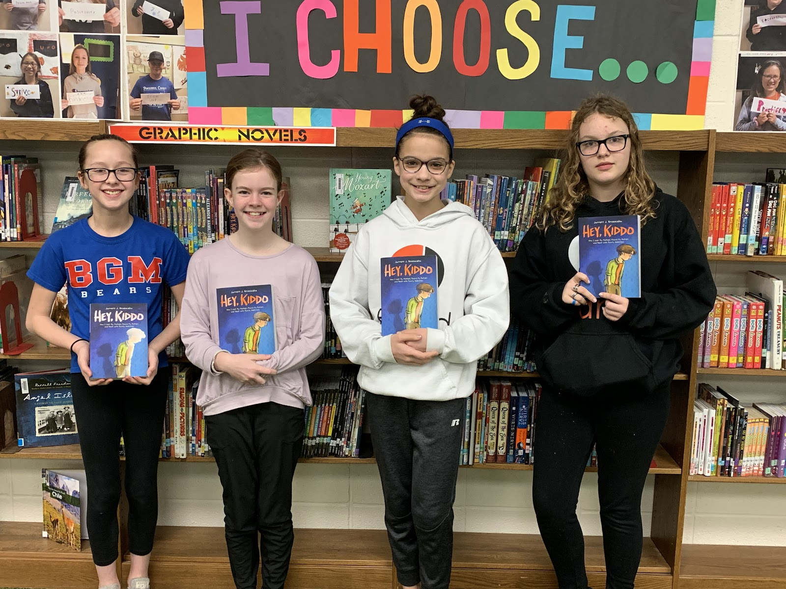All Iowa Reads book club at GMS