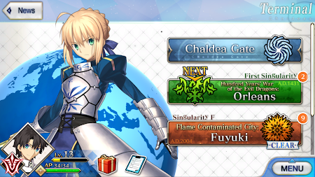 Fate/Grand Order (English) APK screenshot thumbnail 7