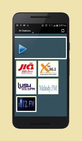 android Radio Singapore Screenshot 2