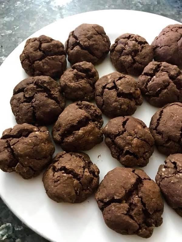 Chocolate Amaretto Cookies Recipe