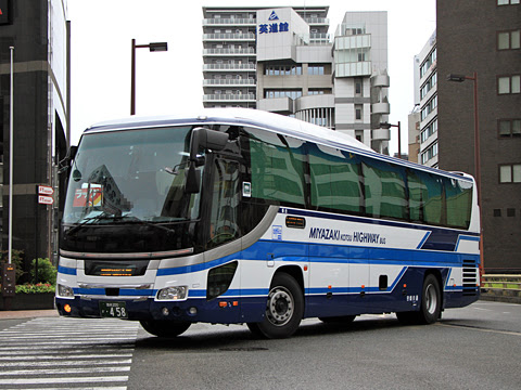 宮崎交通「福岡~延岡・宮崎 夜行線」 ・458_201