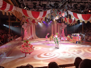 Photo: Ice Show in one of the smaller theater