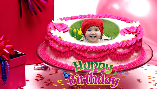 Birthday Cake Frames Poster