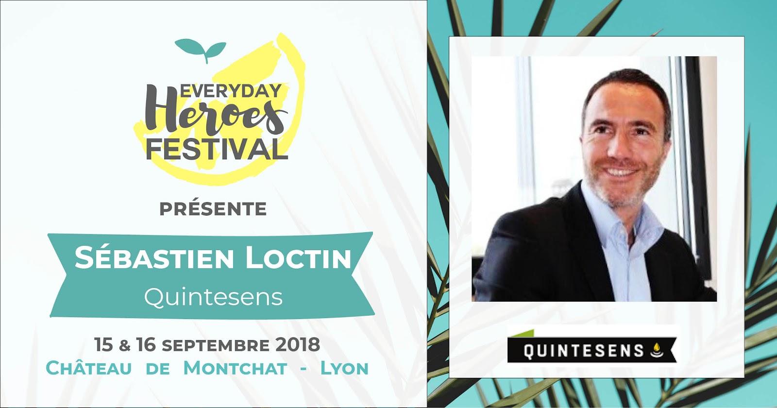 Sébastien Loctin de Quintesens, pour une alimentation saine et durable