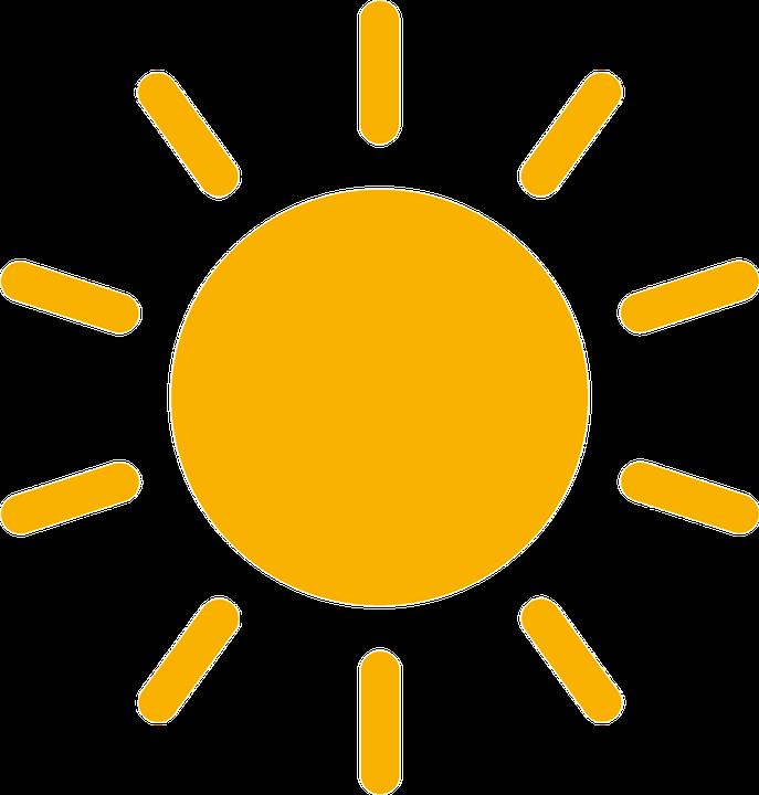 Ilustración gratis: Sun, Día, Rayos, Rayos Del Sol - Imagen gratis ...
