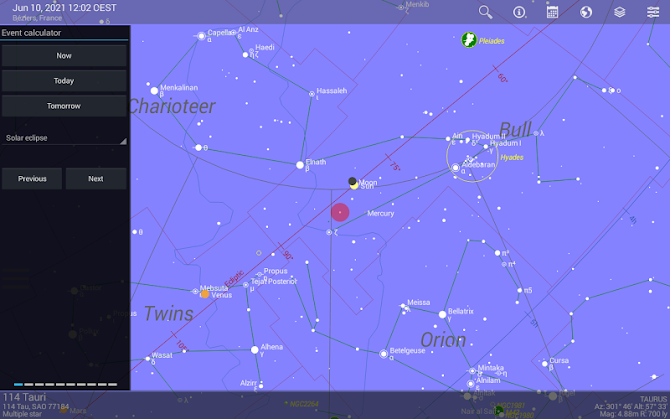 Sky Guide Android 14
