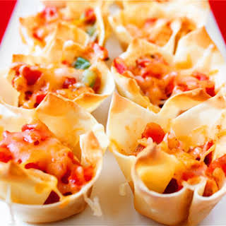 Chipotle Chicken Cups.