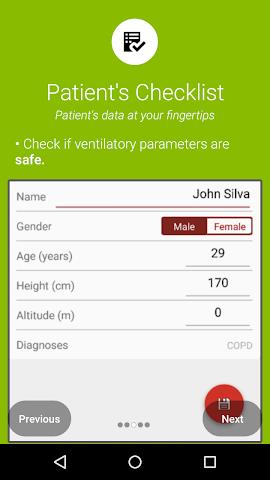 android xlung assist Screenshot 1