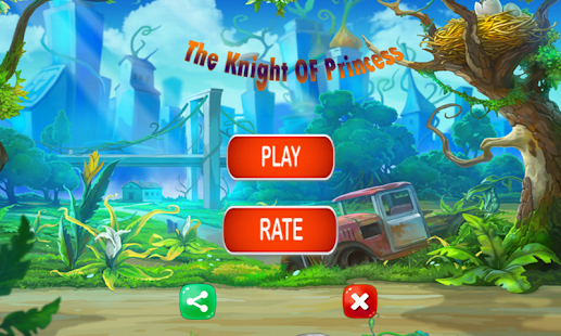 The Knight of Princess Adventure and jumping - náhled