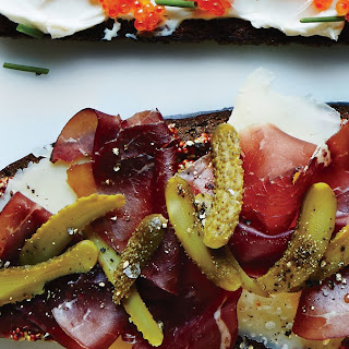 Bresaola and Cheddar Toast Recipe