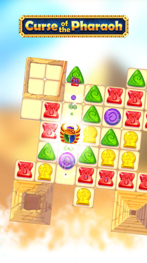 Curse of the Pharaoh: Match 3- screenshot