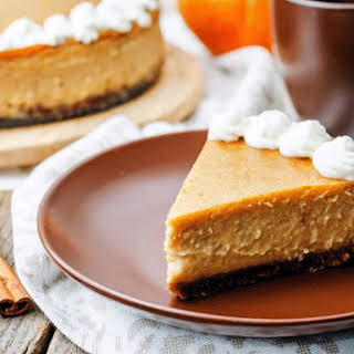 Martha Stewart's Pumpkin Cheesecake.
