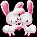 Love Rabbit Theme - Kawaii Cute Bunny Comic Theme