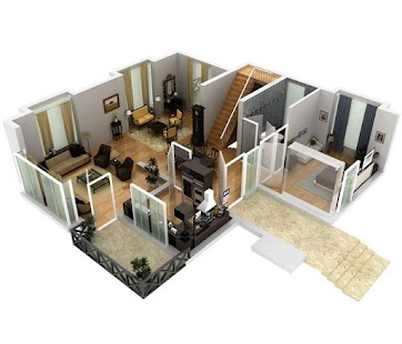 3d Colored House Floor Plans 3d house floor plans - android apps on google play