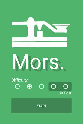 Mors. : The Morse Code Trainer 2.4 screenshots 1