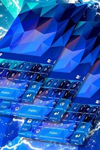 Geometric Shape Keyboard Them - náhled