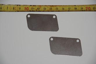 Photo: Antikink plader i 0,6mm. rustfri plade. Super metode at undgå snoede liner.