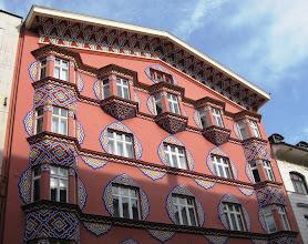 Photo: Art Nouveau -fasadeja: Bamberg-house