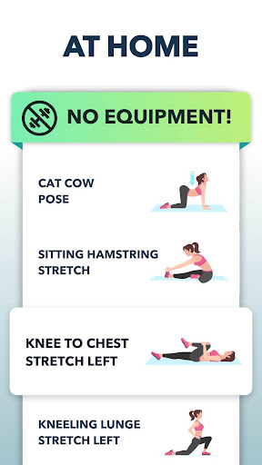 Stretching Exercises at Home -Flexibility Training 1.1.4 Screenshots 5