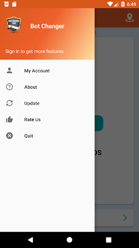 Bot Changer VPN 1.4.8 screenshots 3