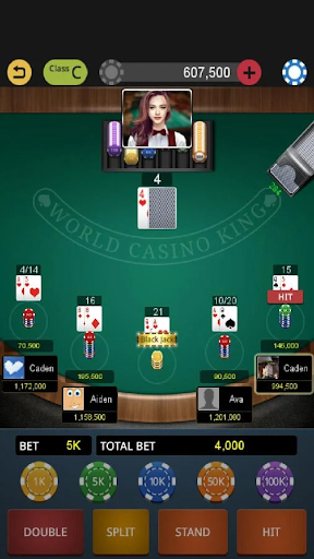 World Blackjack King screenshots 4