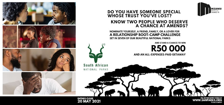 Enter to take part in SanParks' boot camp adventure series.