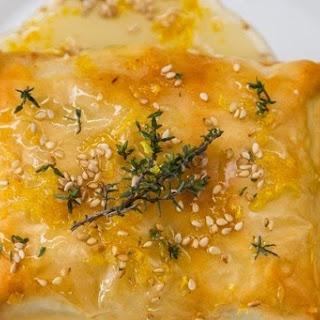 Baked Thyme and Lemon Feta in Filo