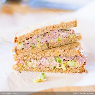 Absolute Best Ham Salad.