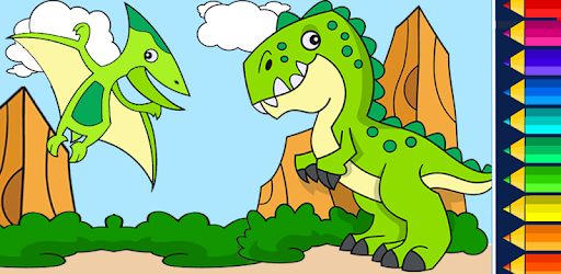 Dino Coloring Game Apps On Google Play