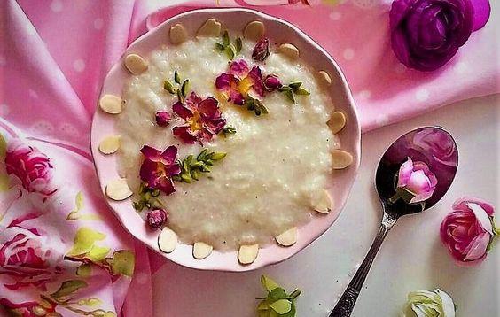طرز تهیه شیر برنج خوشمزه همراه نکات تغذیه ای