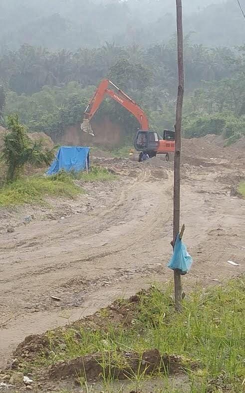 Kebal Hukum, Galian C Ilegal di Desa Namorih Pancur Batu Bebas Beroprasi