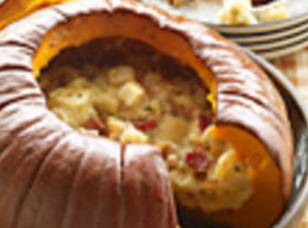Pumpkin Stuffed With Everything Recipe