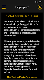 Taxi in Paris- screenshot thumbnail