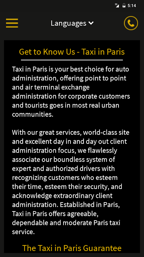 Taxi in Paris- screenshot