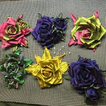 Photo: Цветы из ткани для продажи - купить
