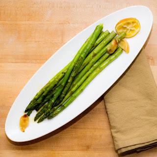 Roasted Lemon Garlic Asparagus.