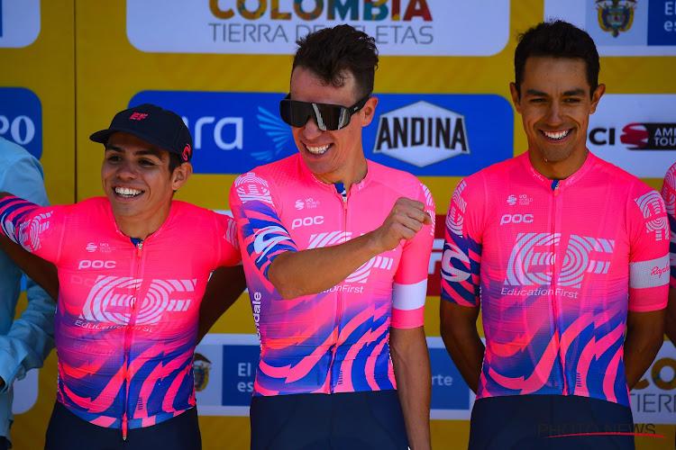 EF Pro Cycling versterkt zich met piepjonge Colombiaan