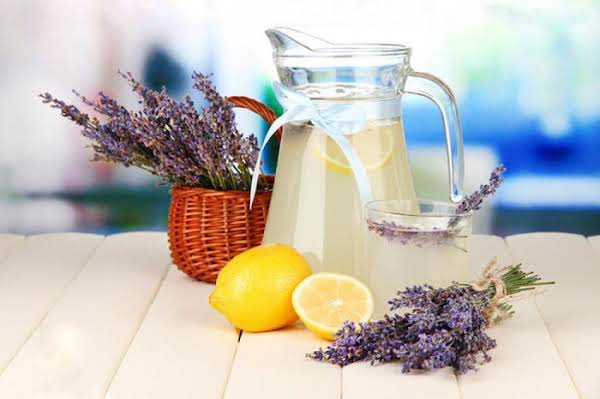 Home-made Lavender Lemonaide