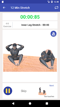 ... 10 Minute Stretch Workout poster