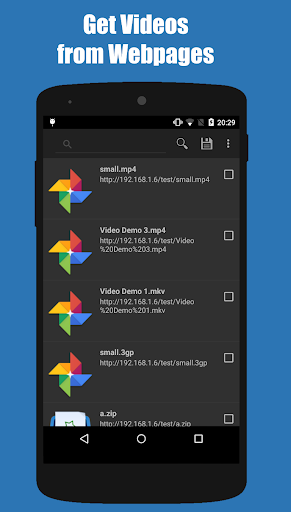 Turbo Download Manager (and Browser) 5.26 screenshots 3