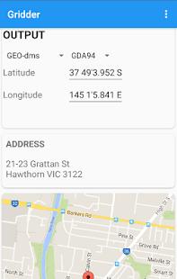 Gridder - Coordinate Converter screenshot