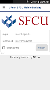UPenn SFCU Mobile Banking screenshot 0