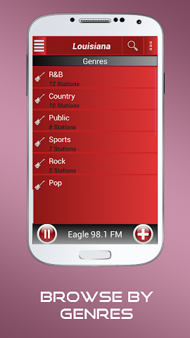 android A2Z Louisiana FM Radio Screenshot 7