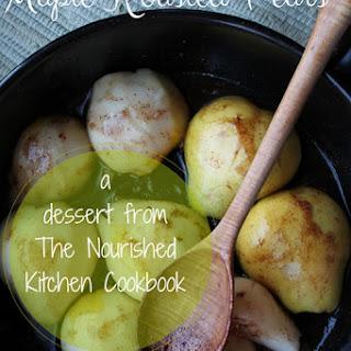 Maple Roasted Pears.