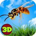 Insect Wasp Simulator 3D icon